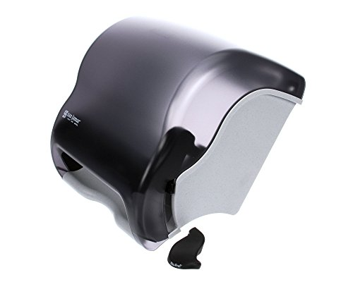 San Jamar Element Lever Roll Towel Dispenser, 12 1/2w x 8 1/