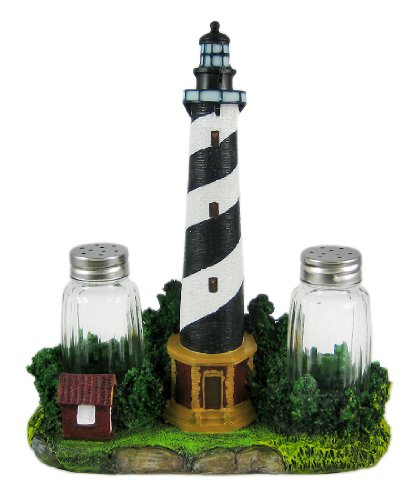BEACON-SEASONS-Lighthouse-Salt-Pepper-Shaker-Set