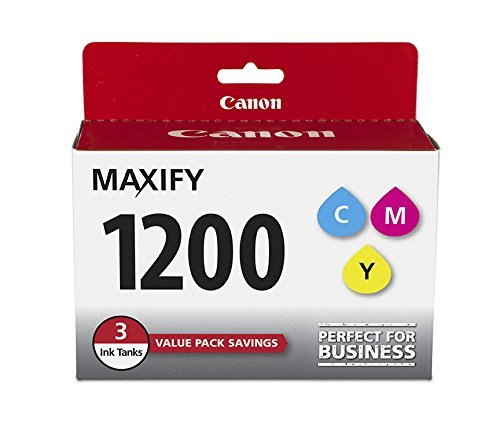3 X CanonInk MAXIFY PGI-1200 3Color Multi Pack Ink