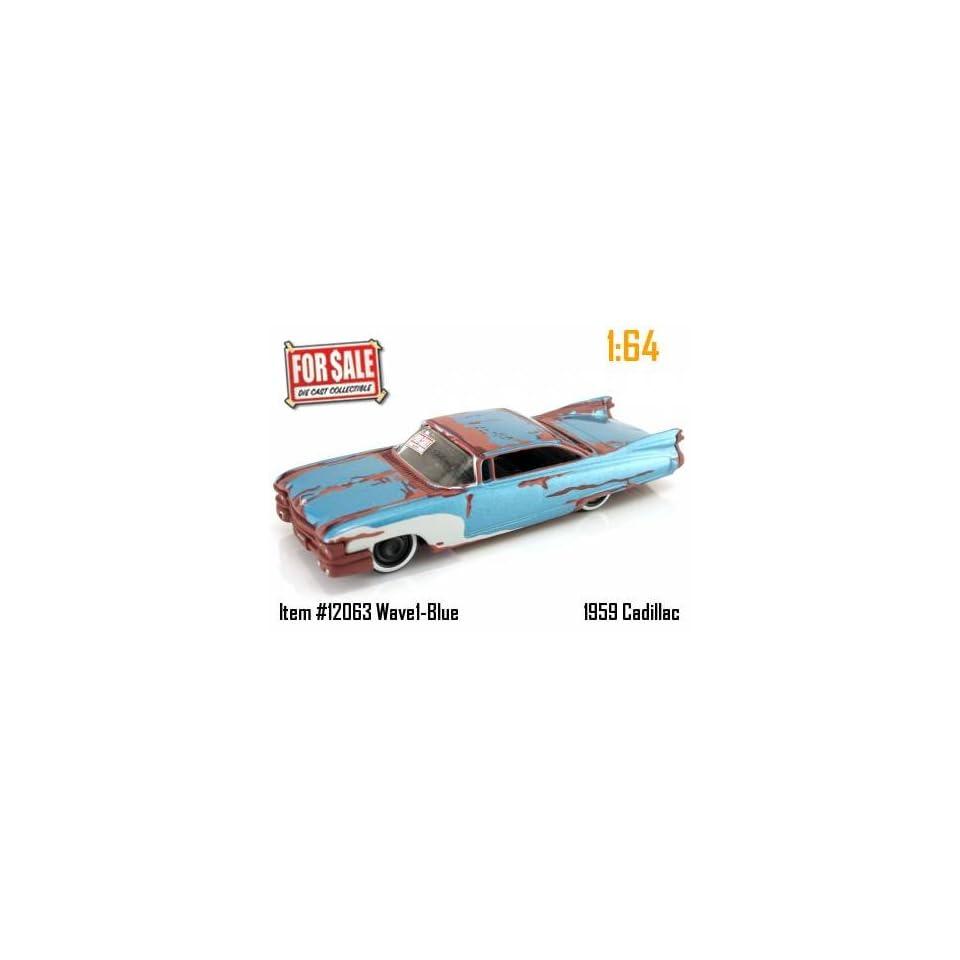 Jada Dub City For Sale Blue 1959 Cadillac 164 Scale Die