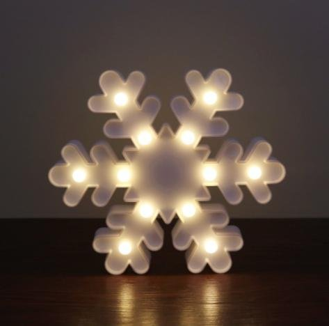 Lettuce eat 3d snowflake night light led marquee light christmas lettuce eat 3d snowflake night light led marquee light christmas table lamps for aloadofball Image collections