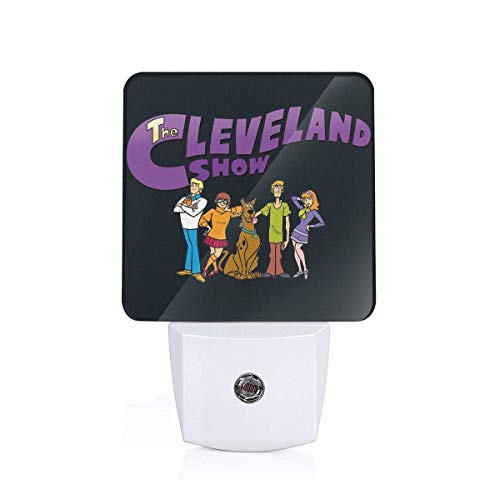 Perfect Custom Gift-Scooby-Doo-Family LED Sensor Night Light, Auto On/Off