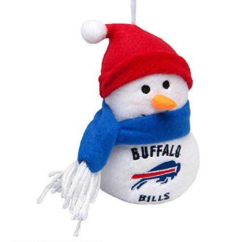 Buffalo Bills - Plush Snowman Ornament (Nfl Plush Snowman Ornaments)