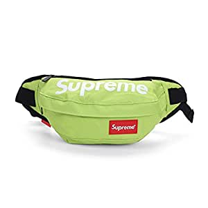 Supreme Waist Bag Fanny Pack Outdoor Sport Pouch Military Camping Hike Crossbody Neo Green
