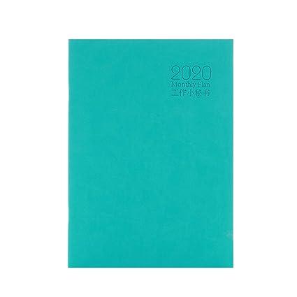 Amazon.com : WRZGSL Diary Notebook Planner Agenda 2019 2020 ...