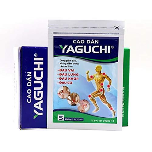 20 Packs x 5 Patches Ecosip (Yaguchi) Herbal