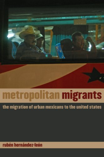 By RubǸn HernÇ­ndez-LeÇün Metropolitan Migrants: The Migration of Urban Mexicans to the United States (1st Frist Edition) [Paperback] PDF