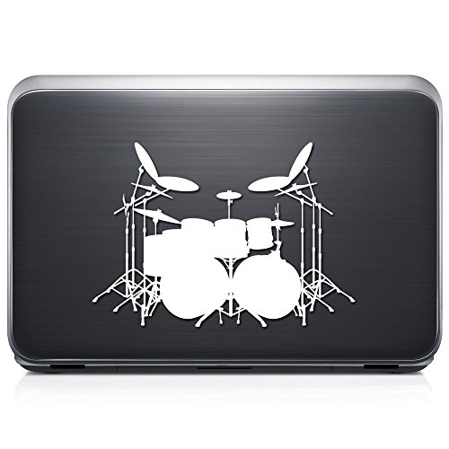 drums window decal - 5