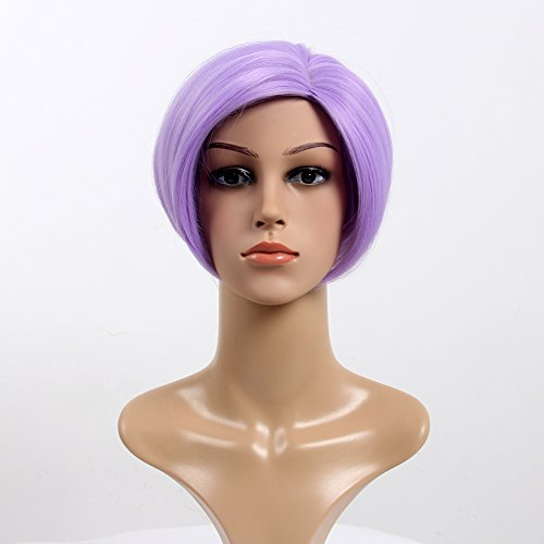 Stfantasy Wigs for Women Short Straight Heat Friendly Synthetic Hair 12