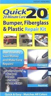 Quick 20 Bumper Fiberglass and Plastic Repair - Fix To On Plastic Scratches How