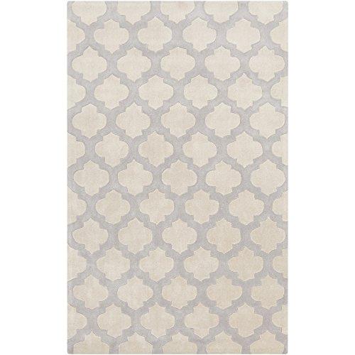 Surya COS9243-3656 Cosmopolitan Neutral Area Rug, 3'6 x 5'6, Beige/Medium Gray