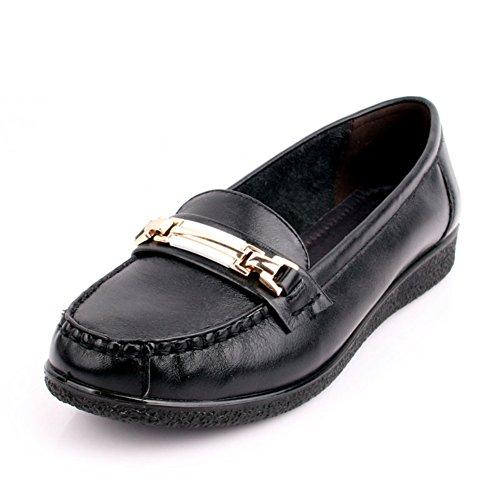 Las mujeres zapatos de pisos/Zapatos de mujeres/Zapatos de mamá/Fin de zapatos de mujer suave/Mujeres zapatos de trabajo A