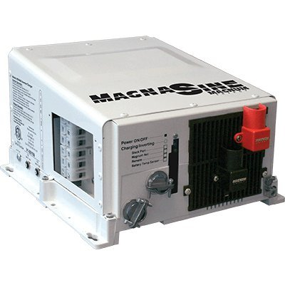 Magnum Energy MS4348PE MS-PE 4300W 230 VAC Series Pure Sine Inverter/Charger, Transfer relay capability 30 AAC, Five stage charging capability, Overcurrent protection, Overtemperature protection ()