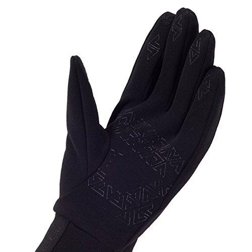 SEALSKINZ Mens Stretch Fleece Nano Cycling Gloves