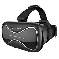 Top-spring 3d VR Lunettes & # Xff0C; la réalité virtuelle VR Box Lunettes de vision pour iPhone et smartphones Android