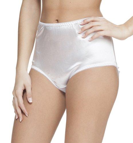 3b793076905a Platinum Lingerie Women's Plus Size 3 Pack Multicolor Satin Look ...