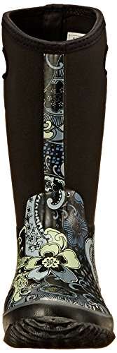 Roper Women's Barnyard Prints Rain Shoe, Black, 9 M US Photo #3