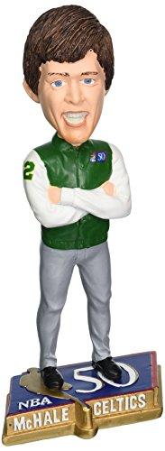 NBA Boston Celtics Mchale K. #32 Legends 50 Greatest Players Bobble Figurine, Green