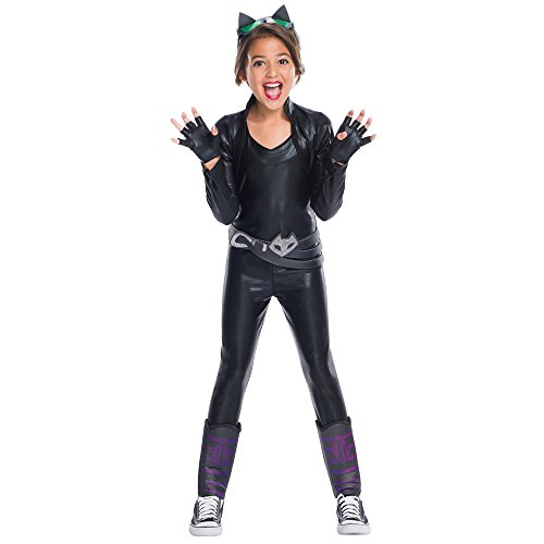 Rubie's Costume 630722 Girls Dc Superhero Deluxe Cat Costume, Small, Multicolor (Pack of 5) for $<!--$22.99-->