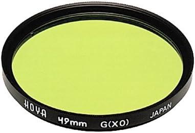 Hoya 55mm HMC Screw-in Filter Yellow//Green