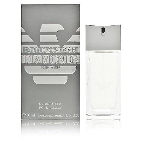 Emporio Armani Diamonds by Giorgio Armani for Men Eau De Toilette Spray, 1.7-Ounce (Emporio Armani Eau De Toilette)