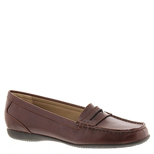Trotters Womens Francie Closed Toe Loafers, Brown, Size 11.0 US/9 UK US