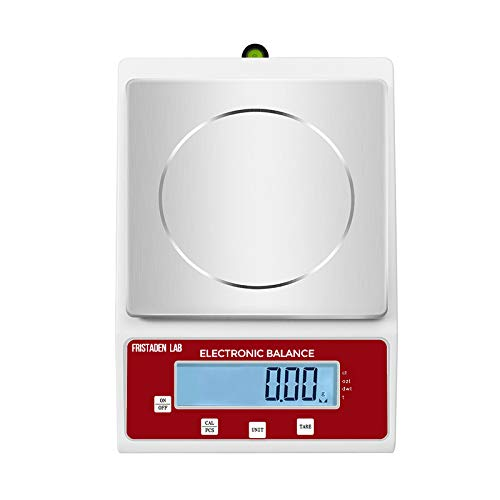 American Fristaden Lab Analytical Precision Scale 2000g x 0.01g Carats Jewelry Kilograms Computer Printer Connection Electronic Scientific Balance for Laboratory Ounces Business Weigh Grams