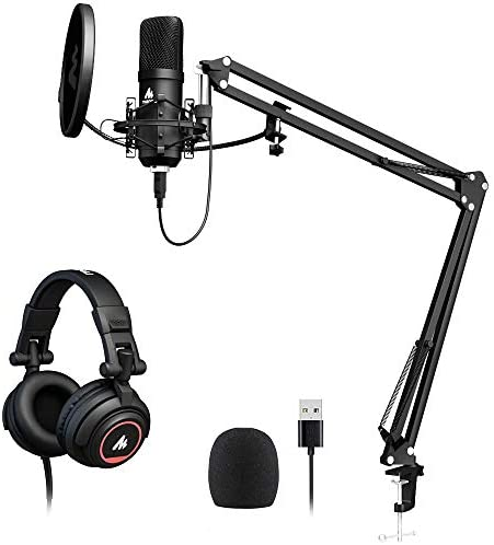 Microphone Headphone MAONO Condenser Livestreaming product image