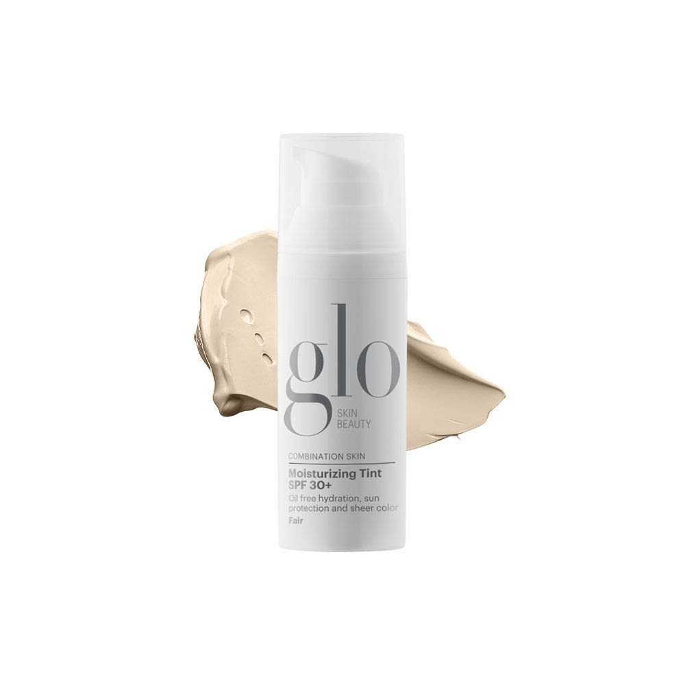 Glo Skin Beauty Moisturizing Tint SPF 30+ | Tinted Face Moisturizer and Sunscreen | Lightweight, Oil Free Coverage with Dewy Finish | 1.7 Fl Oz