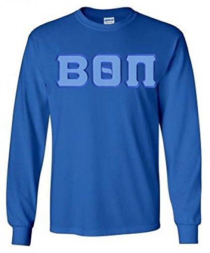 Express Design Group Beta Theta Pi Lettered Long Sleeve X-Large Royal Blue