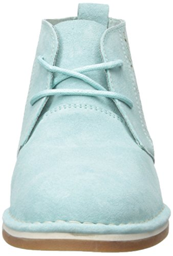 Hush Puppies Womens Cyra Catelyn Boot Aqua Blue Perf Scamosciato
