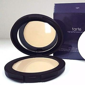 tarte Smooth Operator Amazonian Clay Tinted Pressed Finishing Powder Light by Tarte