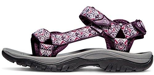 ATIKA AT-W111-MGT_Women 7 B(F) Women's Maya Trail Outdoor Water Shoes Sport Sandals W111 by ATIKA (Image #6)