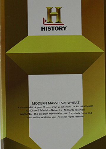 Modern Mar: Wheat (Modern Marvels Dvd Collection)