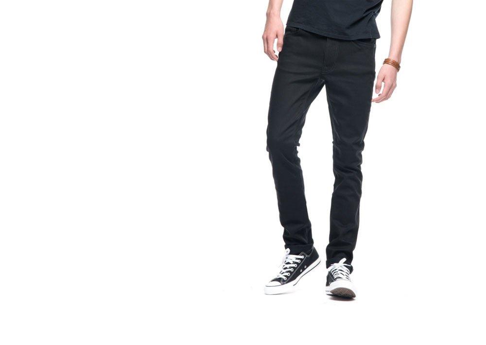 【Nudie Jeans/ヌーディージーンズ】 LEAN DEAN/リーンディーン/スキニー デニム《Dry Ever Black/792》 B077MB7XBG W32 / L30|Dry Ever Black / 792 Dry Ever Black / 792 W32 / L30