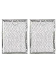 GE MICROWAVE GREASE OVEN RANGE FILTER WB06X10654 (2 PACK) Brand New