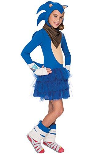 Rubie's Sonic Boom Girl's Costume, (Sonic Tails Costume Kids)