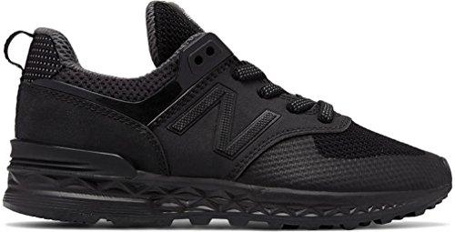 Noir Garçon Pour Balance Chaussures Souple monochrome Bébé New tHqYXwx7w