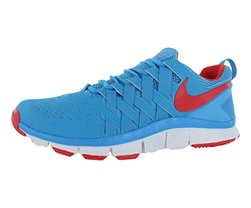 size 40 ef5f6 2369d Mens Nike Free Trainer 5.0 Training Shoe Vivid Blue White Light Crimson  Size 14 - Buy Online in Oman.   Apparel Products in Oman - See Prices, ...