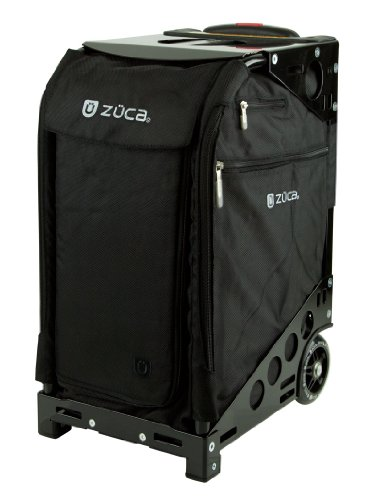 Zuca Pro Travel Set w/ matching cover - Black Sport Insert Bag -Choose your frame color! (black frame) by ZUCA