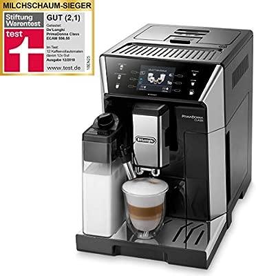 DeLonghi Cafetera automaticá ECAM 556.55.SB: Amazon.es ...