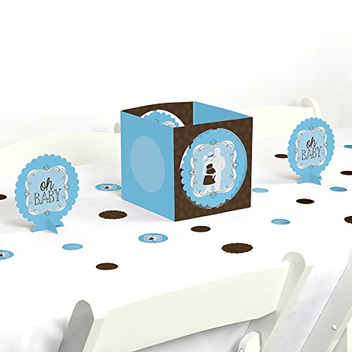 Silhouette Couples Baby Shower Decorating