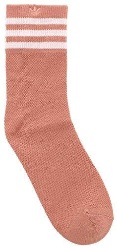 Caviglia Quarter A Calze Calzini Maglia Originals Singolo Pink Da Agron white Righe Donna wxfHCzXqn0