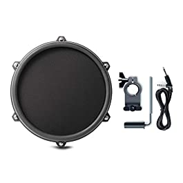 Alesis Nitro 8 Inch SINGLE-ZONE Mesh Tom Pad Expansion Pack- 8″ Drum, Clamp, Cable – DMPad