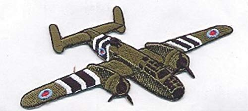 Embroidery Patch B-25 Mitchell WWII Allied Bomber Warbird Plane 2