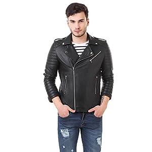 Leather Biker Jacket for Roadies ( BlacK Color )