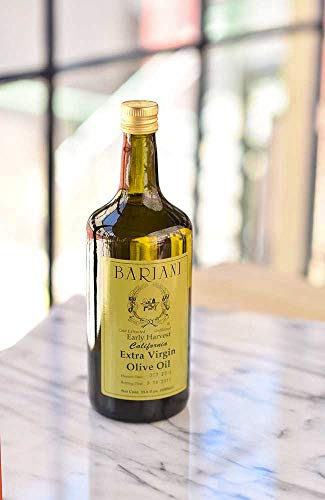 Bariani Early Harvest California Olive Oil 33.8 Oz 1000 ml  Bariani Olive Oil Company USDA Organic OU Kosher