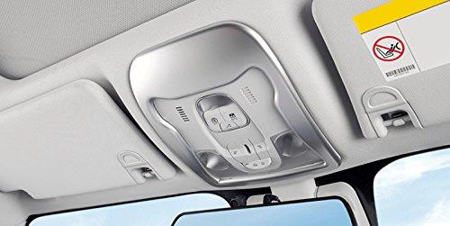Per Renegade 2014-2019 ABS opaco interno tettuccio luce luce di lettura anteriore Trim decorativo 1 pezzo accessorio stile auto