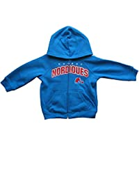 Quebec Nordiques Infant Full-Zip Fleece Hoodie