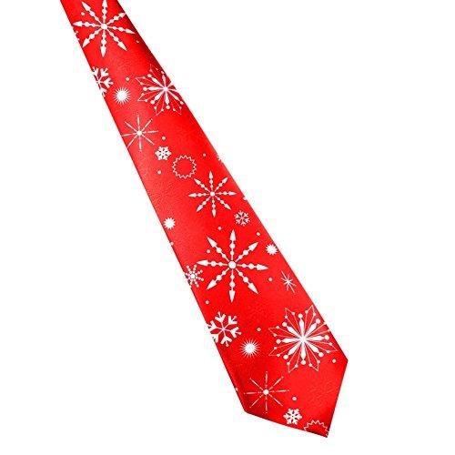 Santa Necktie (Daxin One-off Festival Fun Christmas Tie Necktie Snowman Santa Tie for Mens and boys)